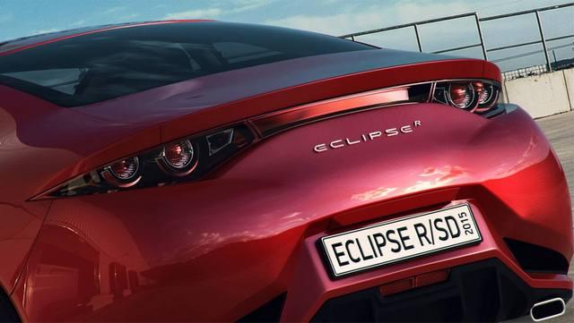 خودرو مفهومی میتسوبیشی اکلیپس 2015