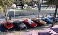 بازارداغ خودروهایکلاسیک درامارات + تصاویر