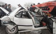 هر نیم ساعت 1 نفر در تصادف در ایران میمیرد