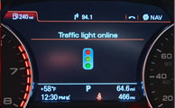 سیستم اطلاع رسانی وضعیت چراغهای راهنمایی پیش روی رانندگان