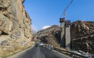 قطعه 4 آزاد راه تهران – شمال برای سفرهای نوروزی باز شد