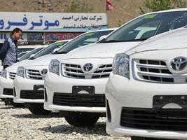 تویوتا صاحب 95 درصد بازار خودروی افغانستان
