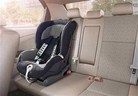 اجباری شدن استفاده از صندلی کودک در خودرو