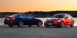 اعلام اطلاعات اینفینیتی Q50 مدل 2018 + قیمت
