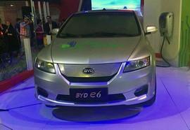 BYD E6، جدیدترین خودروی برقی در ایران رونمایی شد