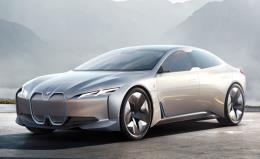 معرفی  یک خودروی برقی جدید توسط بی ام و