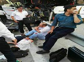 یک کشته و ۱۳ زخمی در تصادف اتوبوس حامل کارکنان ایران خودرو