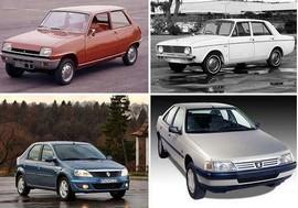 آشنایی با خودروهای تاثیرگذار بازار ایران در 7 دهه اخیر