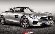 نسخه سیاه مرسدس AMG GT