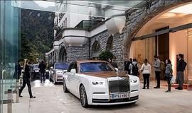 ورود قصر متحرک رولزرویس به نمایشگاه خودروی دیترویت +عکس