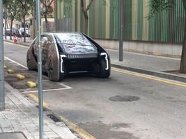 تصاویر جدیدترین خودروی عجیب رنو لو رفت