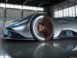 معرفی خودروی تمام برقی مسابقه ای مرسدس بنز : EQ Silver Arrow