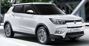 قیمت انواع خودروی سانگ یانگ قبل از ترخیص