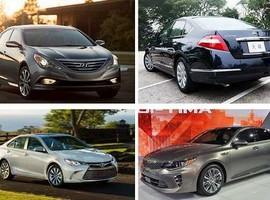 مقایسه خودروهای سدان بزرگ نیمه لوکس بازار ایران