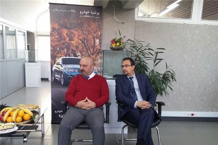 پرشیا خودرو:گزینه اول ب ام و در ایران هستیم