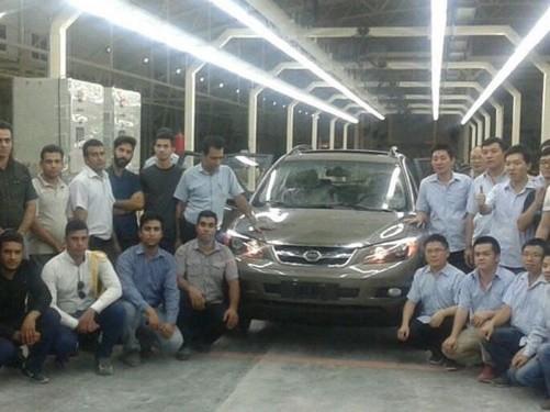 کارمانیا ، نخستین محصول BYD را در ایران تولید کرد