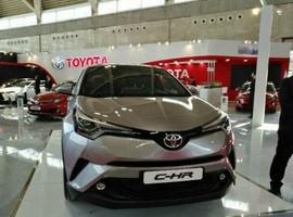 تویوتا C-HR در نمایشگاه تهران