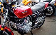 توقیف موتورسیکلت 6 سیلندر قاچاق در یزد