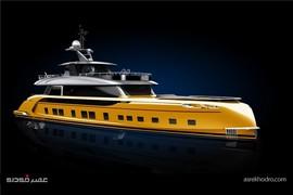 طراحی یک کشتی لوکس توسط پورشه + تصاویر