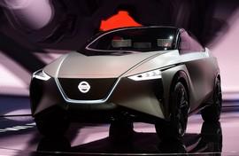 معرفی مرموزترین خودرو الکتریکی نیسان در پکن - تصاویر