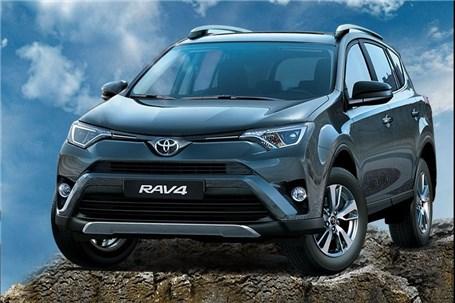 فروش با تحویل فوری RAV۴ مدل ۲۰۱۷ توسط ایرتویا