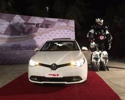 ام جی GT رسما در تهران رونمایی شد
