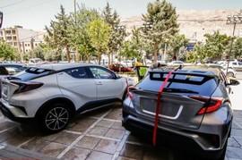 تحویل تویوتا C-HR به مشتریان در ایران + قیمت