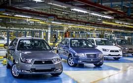 روند نزولی تولید خودرو در ایران آغاز شد
