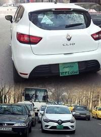 رنو کلیو در حال آزمایش فنی در تهران