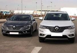 اعلام قیمت جدید رنو کولیوس و تلیسمان توسط نگین خودرو - دی 96
