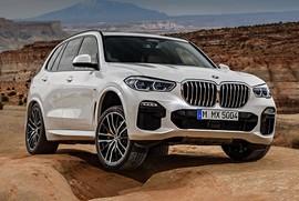 BMW از نسل جدید شاسیبلند X5 مدل 2018 رونمایی کرد
