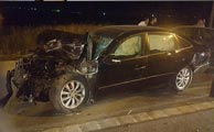 جزئیات تصادف زنجیرهای 6 خودرو در اتوبان تهران - قم / تصاویر