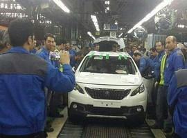 تولید اولین دستگاه پژو 2008 در ایران خودرو / لیست اولیه آپشن ها