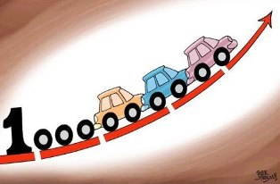 افزایش قیمت خودروهای 2500 سی سی