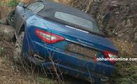 تصادف مازراتی گرن کابریو در جاده هراز