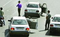 برخورد پلیس راهور تهران با خودروهای شهرستانی
