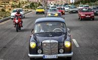 رژه خودروهای کلاسیک در تبریز