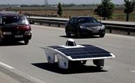 توجه رسانه های آمریکایی به خودروی خورشیدی قزوینی