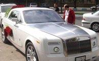 رولزرویس ماشین عروس ایرانی ها!