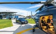 سرویس هوایی مرسدس بنز برای مشتریان عجول