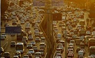 بدترین شهر از لحاظ ترافیک سنگین