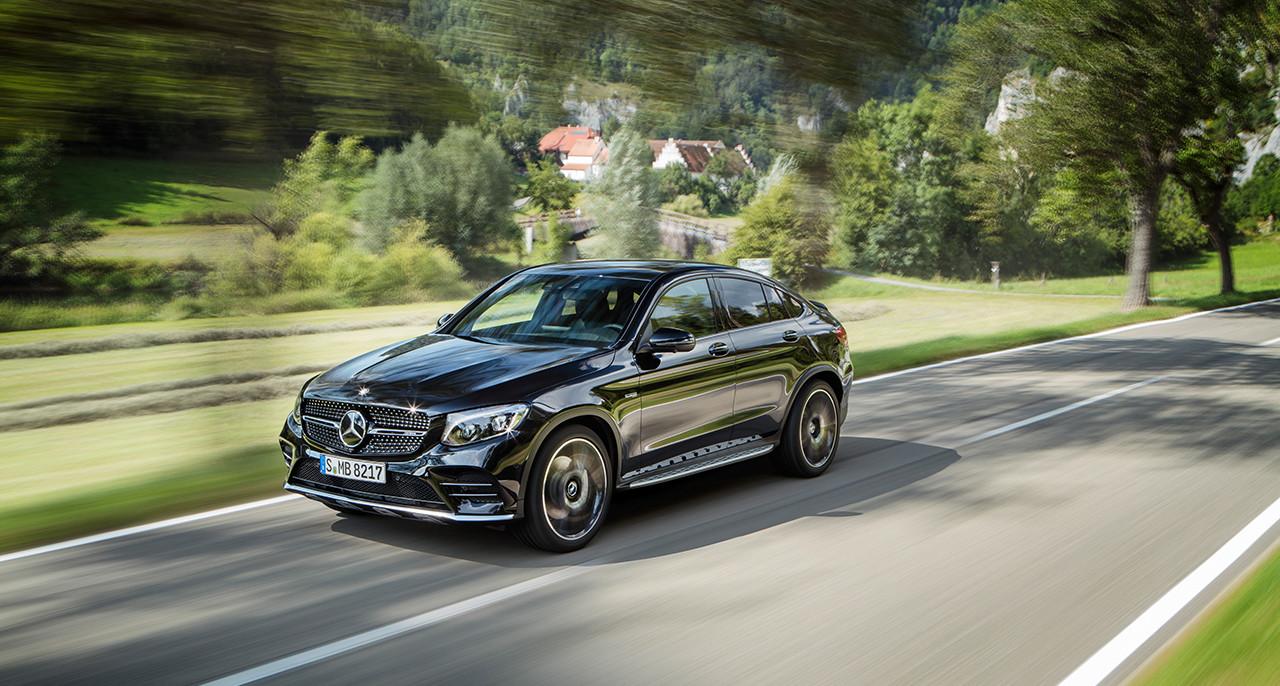 تیزر معرفی مرسدس بنز GLC43 AMG coupe