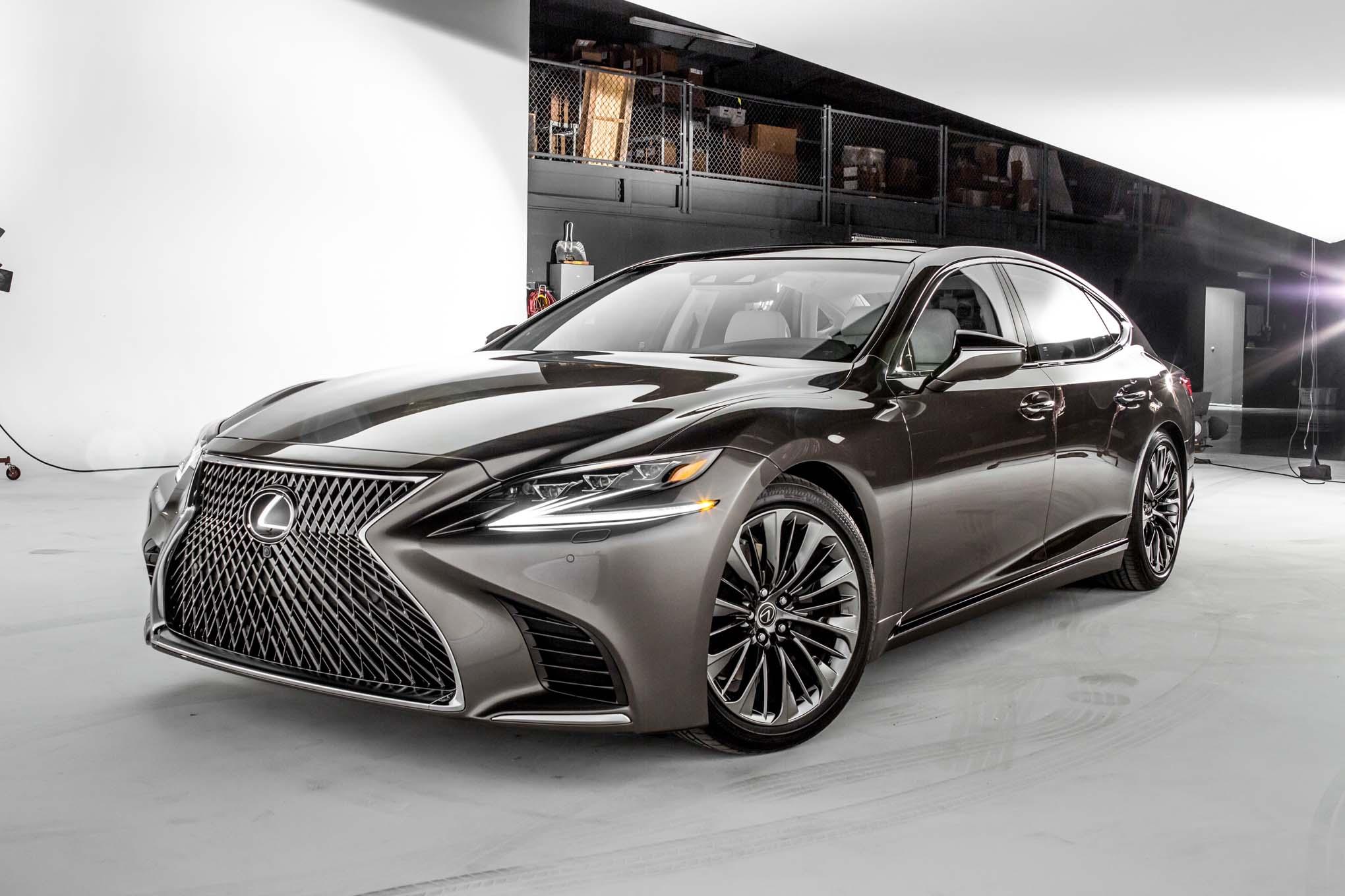معرفی لوکس ترین سدان دنیا Lexus LS 500h 2018