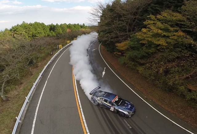 تپهنوردی و مسابقه در جاده زیبای ژاپن