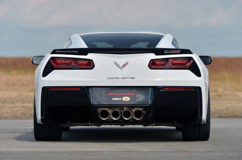 غرش زیبای 2013 HPE500 Corvette