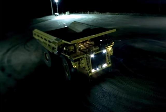 دریفت با کامیون 200 تنی