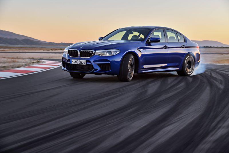 BMW M5 جدید آماده ی مبارزه با مرسدس E63 AMG