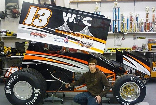 تصادف دلخراش و مرگبار راننده 20 ساله مسابقات Empire Super Sprint