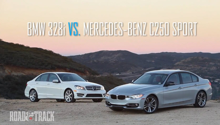 مقایسه  BMW ۳۲۸i با مرسدس بنر C۲۵۰ اسپرت