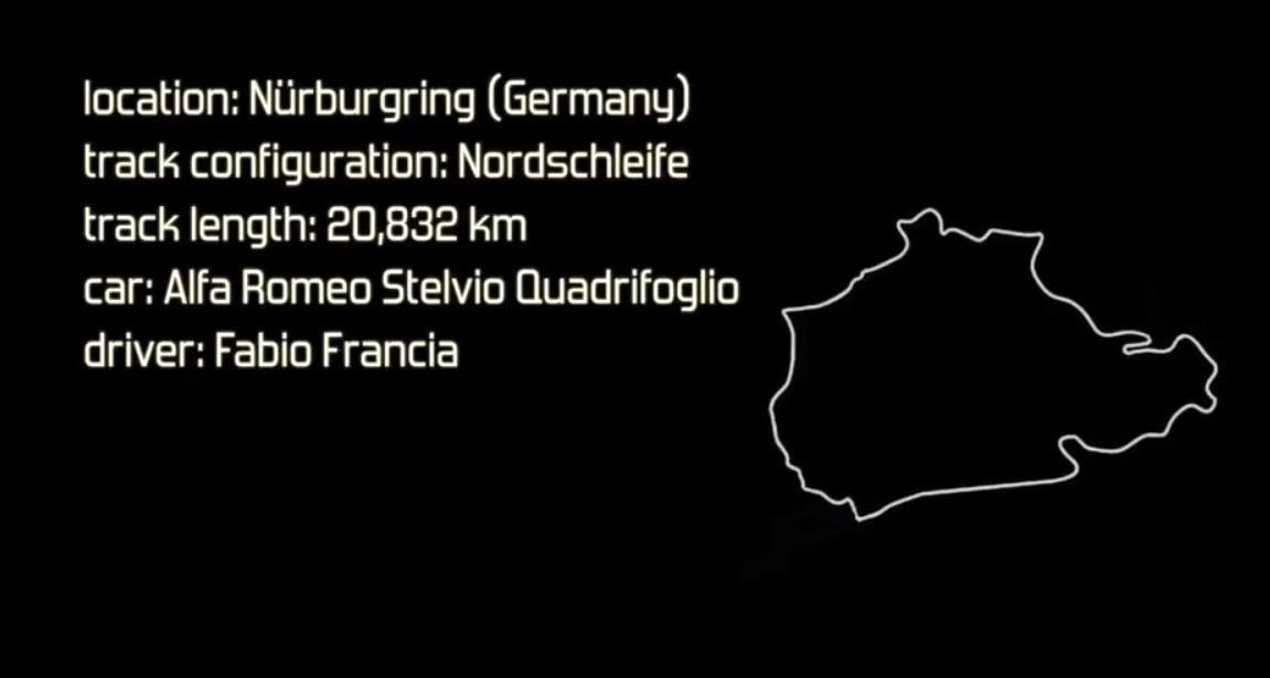 رکورد جدید آلفارومئو استلویو در پیست نوربرینگ